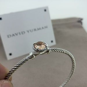 David Yurman Chatelaine Bracelet Morganite